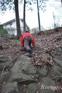 2009年1月5日山登り