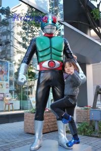 2009年1月11日バンダイ 仮面ライダーと