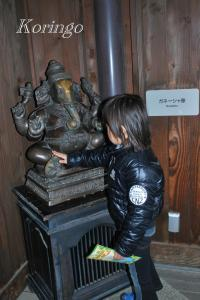 2009年1月21日ガネーシャ像