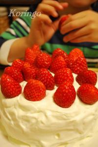2009年1月27日ケーキ