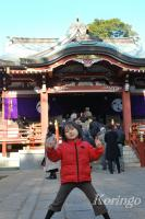 2009年1月3日武蔵野八幡宮2