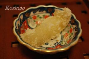 2009年2月4日ばんぺいゆ 砂糖漬け