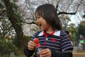 2009年4月3日しゃぼん玉3