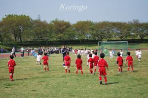 2009年4月19日試合開始