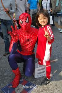 2009年4月19日スパイダーマン