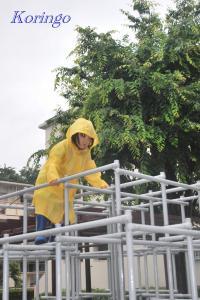 2009年5月31日ジャングルジム