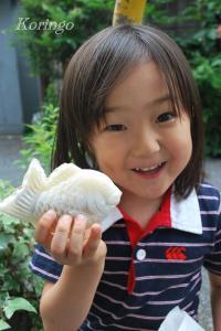 2009年6月10日白い鯛焼き