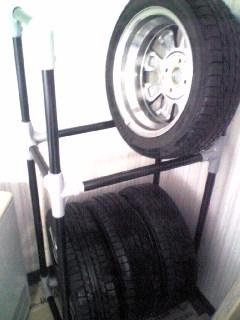 タイヤラック3
