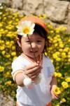 お花どうぞ