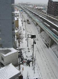 3/20雪景色