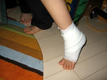 ナオの怪我