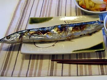 秋の味覚秋刀魚♪