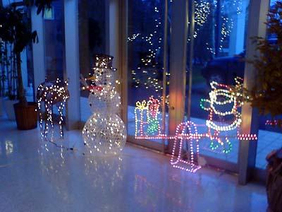 クリスマス用ライトアップ