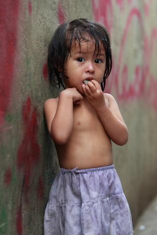 スラムの子供