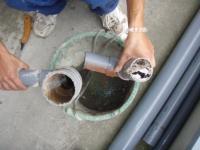 排水管の中2