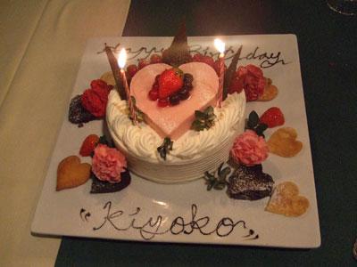 西麻布 Ristorante MUSEO(リストランテムゼオ)ケーキ