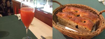 西麻布 Ristorante MUSEO(リストランテムゼオ) シャンパンとパン