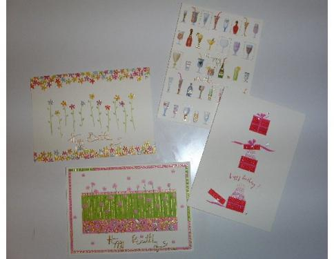 Papyrus cards