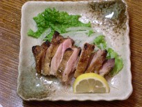 鶏肉の山椒焼き