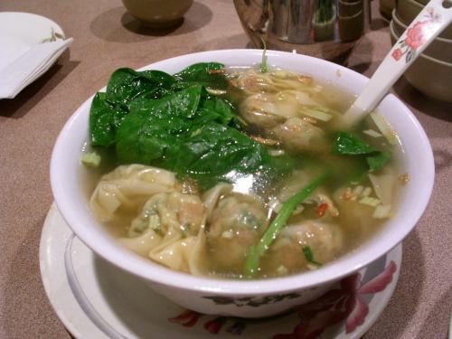ワンタンスープ@海の味