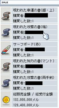 めいぽ ガシャ売却
