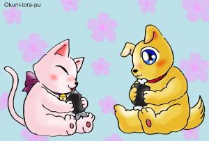 節分ネタ~お寿司・イヌネコ3