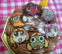 keroro-cake