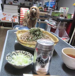 2012.1.29おそばービール