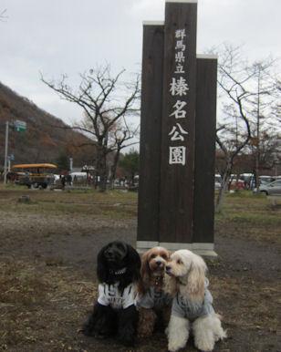 2011.11.6榛名湖にて