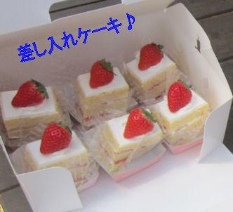 2011.12.30ケーキ差し入れ