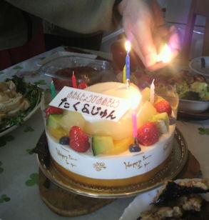 2012.2.26ケーキ