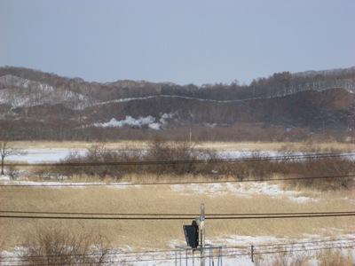 釧路湿原のSL