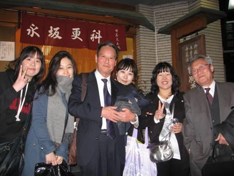 東京で韓国の女子大生と会う