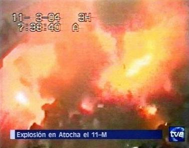 マドリード・アトーチャ駅 2004年3月11日
