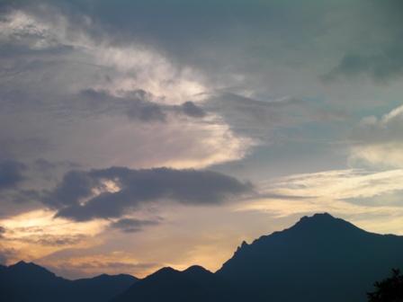 八ヶ岳夕焼け