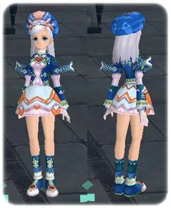 帽子とスカートはちょうちょのと同じ形だと思う かわいすぎる!