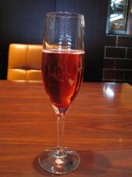 苺のシャンパン