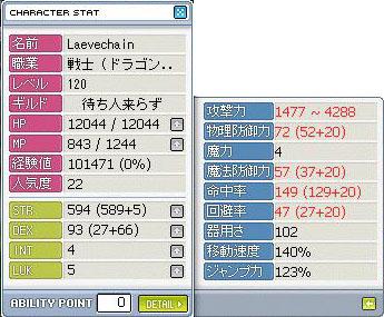 DKLv120=2.