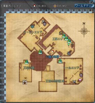 ミレイズ地図