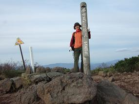 チセヌプリ山頂-1
