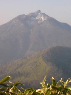 反射板から恵庭岳