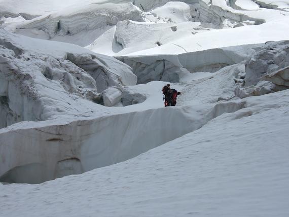 氷河の崩壊-1