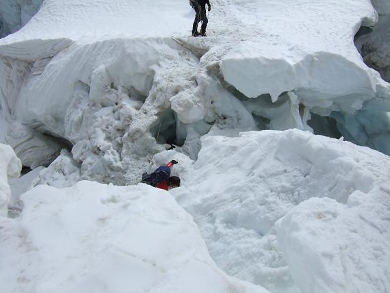 氷河の崩壊-2