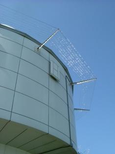 レーダーの屋根