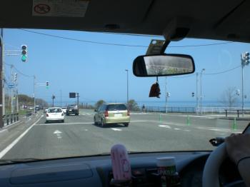 まぁまぁ渋滞な国道