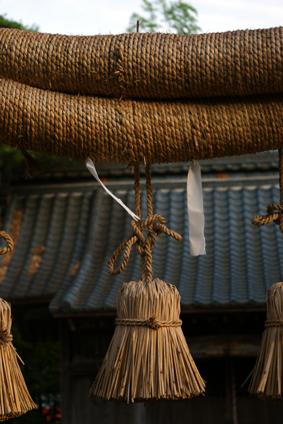 横越の神社
