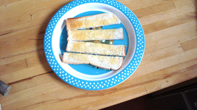 toast soldiers