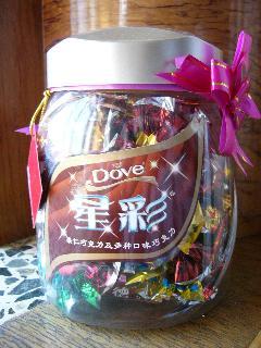 誕生日プレゼントにもらったチョコの盛り合わせ