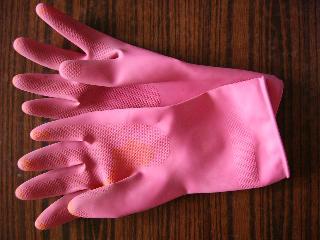 洗濯用手袋~冬でも冷たくない