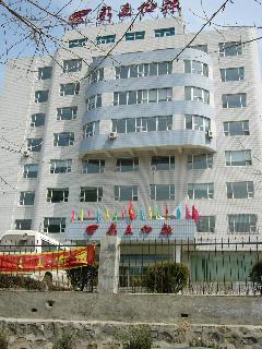いいえ、これが新文化報社の本社ビルです